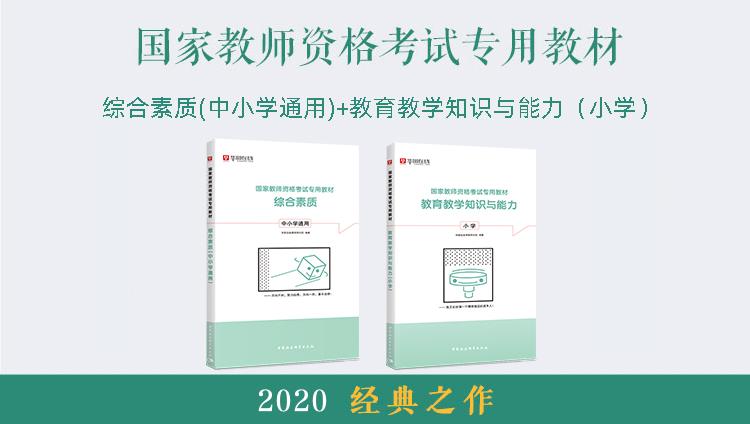 【基础教材】2020国家教师资格证考试小学专用套装 (综合素质+教育教学知识与能力)河南