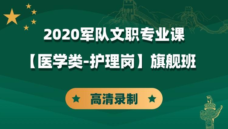 2020军队文职专业课【医学类-护理岗】旗舰班