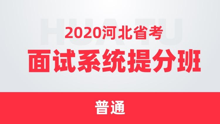 2020河北省考面试系统提分班(普通)