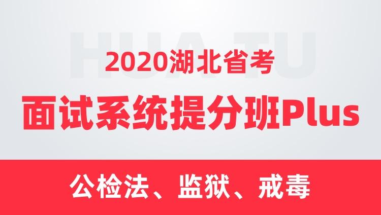 2020湖北省考面试系统提分班Plus(公检法、监狱、戒毒)